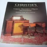 Christie`s Carpets,Decoratives Objects And Furnitures